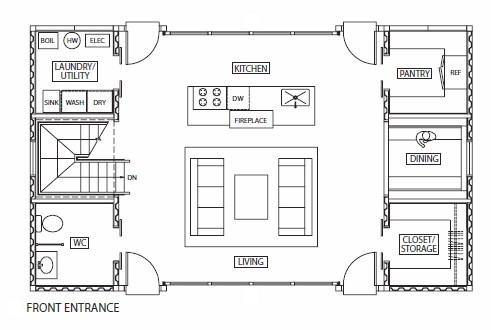 Download Tiny Houses Plans Pdf Toy Box Plans That The Lid Folds To A Desk additionally Professional Building Systems Somerset II also House Plan in addition Floor Plan 4 Bedroom 4 Bath No Window further Plantas De Casas Containers Para Todos Os Gostos. on container homes design plans